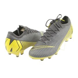 Buty piłkarskie Nike Mercurial Vapor 12 Elite Ag Pro M AH7379-070 szare szare 3