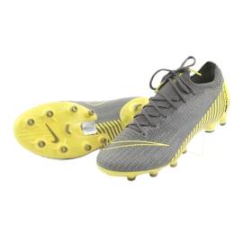 Buty piłkarskie Nike Mercurial Vapor 12 Elite Ag Pro M AH7379-070 szare szare 4