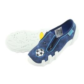 Befado obuwie dziecięce 290X169 niebieskie granatowe 6