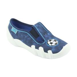 Befado obuwie dziecięce 290X169 niebieskie granatowe 3