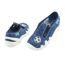 Befado obuwie dziecięce 290X169 niebieskie granatowe 5