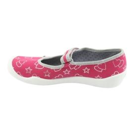 Befado obuwie dziecięce 114Y310 różowe 3