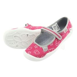 Befado obuwie dziecięce 114Y310 różowe 5