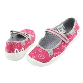 Befado obuwie dziecięce 114Y310 różowe 4