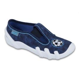 Befado obuwie dziecięce 290X169 niebieskie granatowe 1