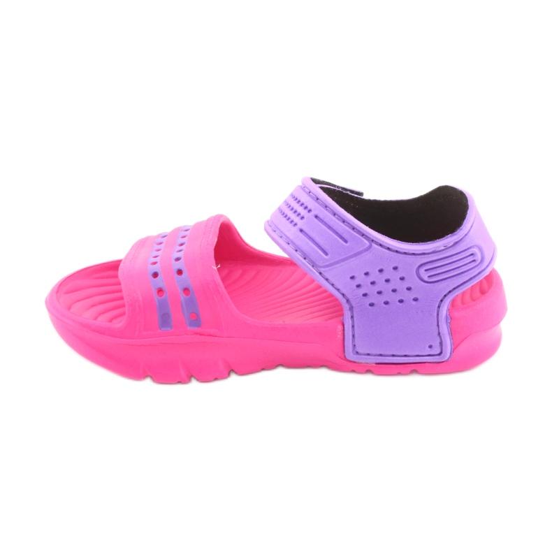 Sandały Aqua-speed Noli różowo fioletowe kol.39 zdjęcie 2