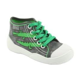 Befado obuwie dziecięce 218P053 szare zielone 2