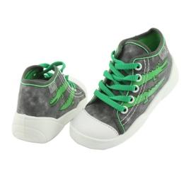 Befado obuwie dziecięce 218P053 szare zielone 4