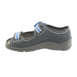 Befado obuwie dziecięce 969X127 niebieskie granatowe 3