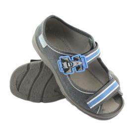 Befado obuwie dziecięce 969X127 niebieskie granatowe 4