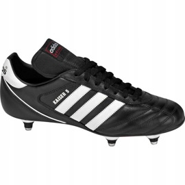 Buty piłkarskie adidas Kaiser 5 Cup Sg 033200 czarne czarne 1