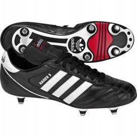 Buty piłkarskie adidas Kaiser 5 Cup Sg 033200 czarne czarne 2