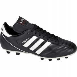 Buty piłkarskie adidas Kaiser 5 Liga Fg 033201 czarne czarne 1