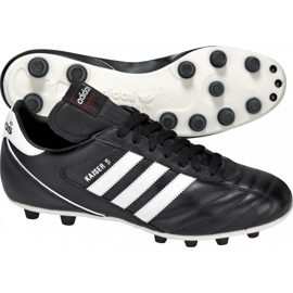 Buty piłkarskie adidas Kaiser 5 Liga Fg 033201 czarne czarne 3