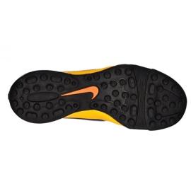 Buty piłkarskie Nike Tiempo Rio Ii Tf Jr 631524-858 żółty, pomarańczowy pomarańczowe 2