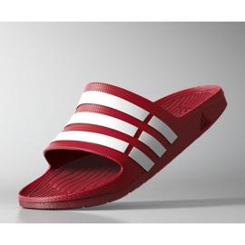 Klapki adidas Duramo Slide M G15886 czerwone 1