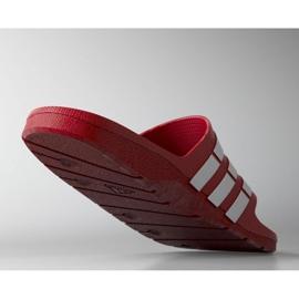 Klapki adidas Duramo Slide M G15886 czerwone 2