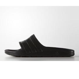 Klapki adidas Duramo Sleek S77991 czarne 2