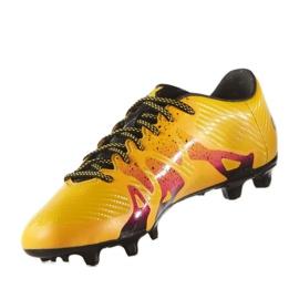 Buty piłkarskie adidas X 15.3 FG/AG M S74632 pomarańczowe wielokolorowe 1