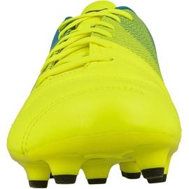 Buty piłkarskie Puma evoPOWER 4.3 Fg M 10353601 żółte żółte 2