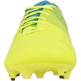 Buty piłkarskie Puma evoPOWER 1.3 Fg M 10352401 wielokolorowe żółte 2