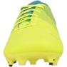 Buty piłkarskie Puma evoPOWER 1.3 Fg M 10352401 niebieski, żółty żółte 2