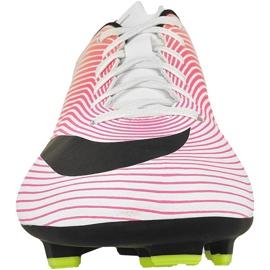 Buty piłkarskie Nike Mercurial Victory V Fg M 651632-107 różowe wielokolorowe 2