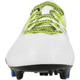 Buty piłkarskie adidas X 15.3 FG/AG M S74635 białe białe 2