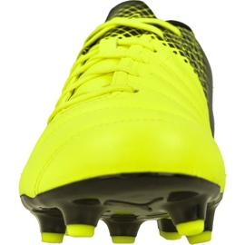 Buty piłkarskie Puma evoPOWER 4.3 Fg Tricks M 10358501 żółte wielokolorowe 2