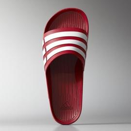 Klapki adidas Duramo Slide M G15886 czerwone 3