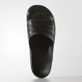 Klapki adidas Duramo Sleek S77991 czarne 4
