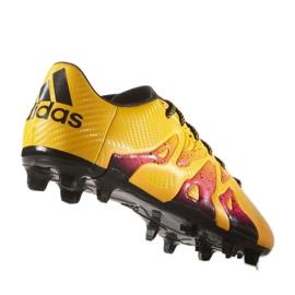 Buty piłkarskie adidas X 15.3 FG/AG M S74632 pomarańczowe wielokolorowe 3