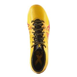 Buty piłkarskie adidas X 15.3 FG/AG M S74632 pomarańczowe wielokolorowe 4