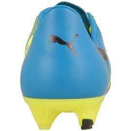 Buty piłkarskie Puma evoPOWER 1.3 Fg M 10352401 wielokolorowe żółte 3