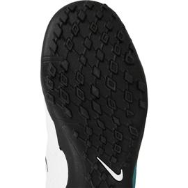 Buty piłkarskie Nike HypervenomX Phelon Iii Tf Jr 852598-104 biały, niebieski niebieskie 1