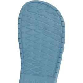 Klapki adidas Aqualette W CG3054 niebieskie 1