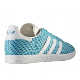 Buty adidas Originals Gazelle W BB2761 niebieskie 1