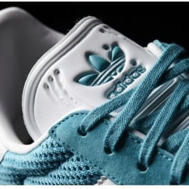 Buty adidas Originals Gazelle W BB2761 niebieskie 3