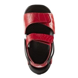Sandały adidas Spider Man AltaSwim Jr BY2610 czarne czerwone 1