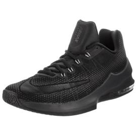 Buty koszykarskie Nike Air Max Infuriate Low M 852457-001 czarne czarne 2