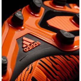 Buty piłkarskie adidas Nemeziz 17.4 FxG M S80610 pomarańczowe pomarańczowe 3