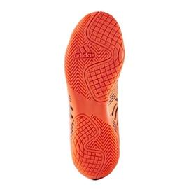 Buty halowe adidas Nemeziz 17.4 In Jr S82467 pomarańczowe wielokolorowe 2