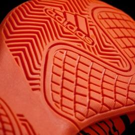 Buty halowe adidas Nemeziz 17.4 In Jr S82467 pomarańczowe wielokolorowe 3