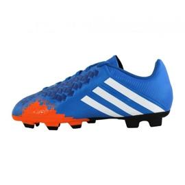 Buty piłkarskie adidas Predito Lz Fg Junior Q21735 niebieskie niebieskie 3