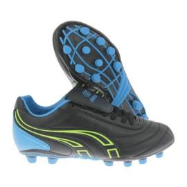 Buty piłkarskie Atletico Fg XT041-9820 czarne czarny, czarny 1