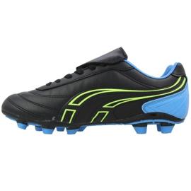 Buty piłkarskie Atletico Fg XT041-9820 czarne czarny, czarny 2