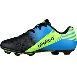 Buty piłkarskie Atletico Fg Junior S76520 wielokolorowe wielokolorowe 1