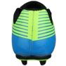 Buty piłkarskie Atletico Fg Junior S76520 czarny, niebieski wielokolorowe 2