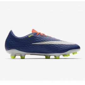 Buty piłkarskie Nike Hypervenom Phelon Iii Fg M 852556-409 pomarańczowe czarny, fioletowy, pomarańczowy 3