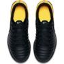 Buty halowe Nike TiempoX Rio Iv Ic Jr 897735-008 czarne czarny, żółty 3
